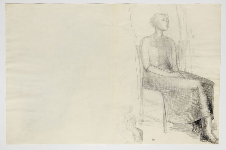 Anthony Caro's drawings corrected by Henry Moore to go on show for first time