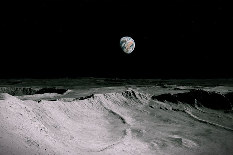 Antony Gormley's maiden VR voyage blasts off to the moon