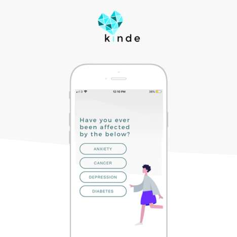 Anxiety-Alleviating Social Networks : Kinde social network