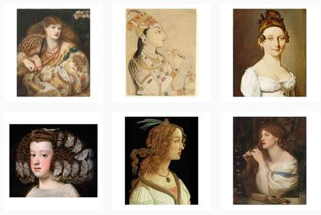 Art History-Inspired Beauty Accounts : Gucci Beauty Instagram