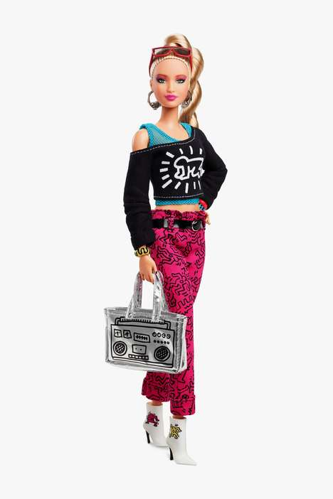 Artist-Created Doll Clothing : Barbie X Keith Harring
