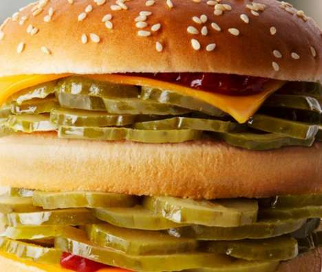 Backfired April Fool's Pranks : McPickle Burger