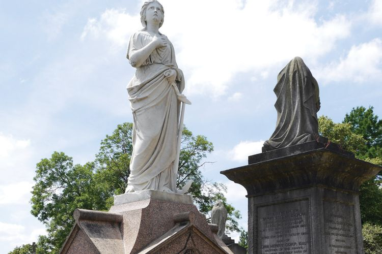 Battered London tomb of the great French tightrope walker Blondin restored