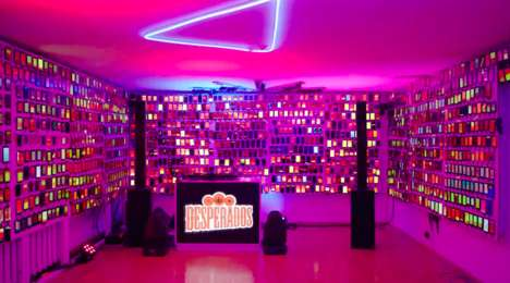 Branded Phone-Free Parties : Desperados' Event