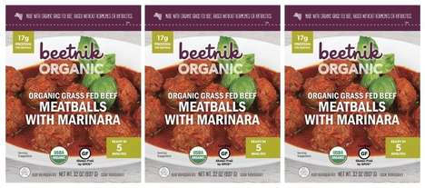 Convenient Protein-Packed Meatballs : Grass Fed Beef Meatballs