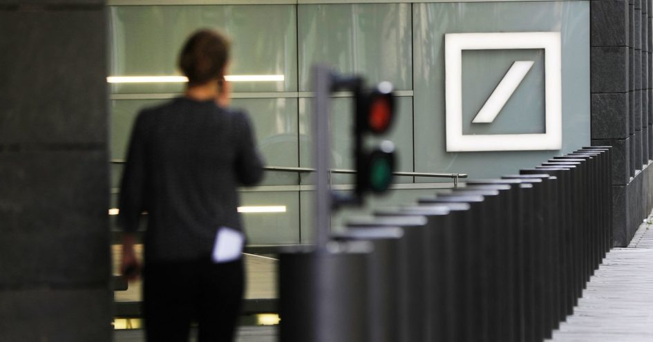 Deutsche Bank shares slip amid $20 billion Russian money-laundering allegations