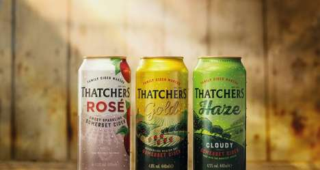 Eco Aluminum-Saving Cider Cans : Thatchers Cider