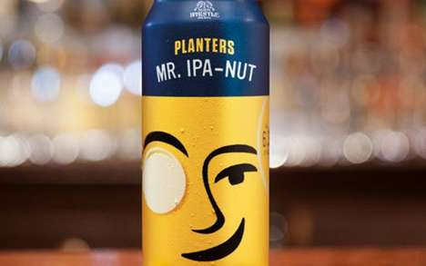 Exclusive Nutty Beer Launches : mr. ipa-nut
