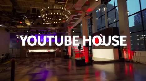 Experiential Media Pop-Ups : youtube house