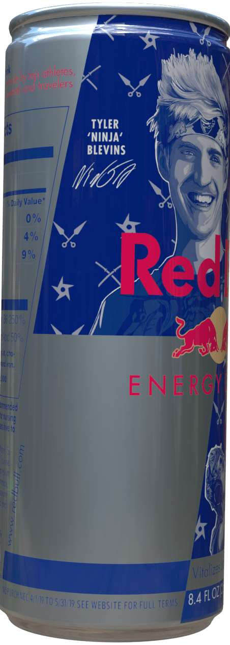 Gamer-Targeted Energy Drinks : cans of energy drinks