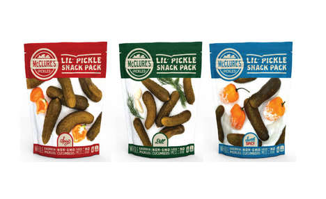 Individual Serving Pickle Snacks : Lil' Pickle Snack Packs