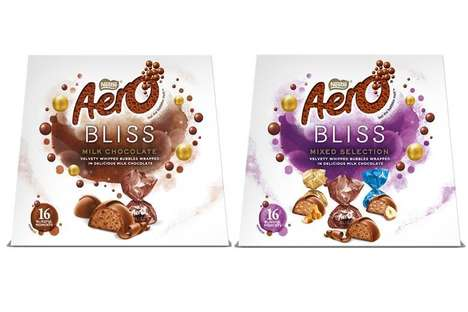 Individually Portioned Chocolate Treats : Aero Bliss chocolates