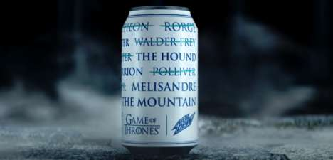 Intentionally Brandless Campaigns : mountain dew campaign