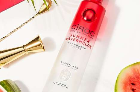 Limited-Edition Summertime Vodkas : Ciroc Summer Watermelon
