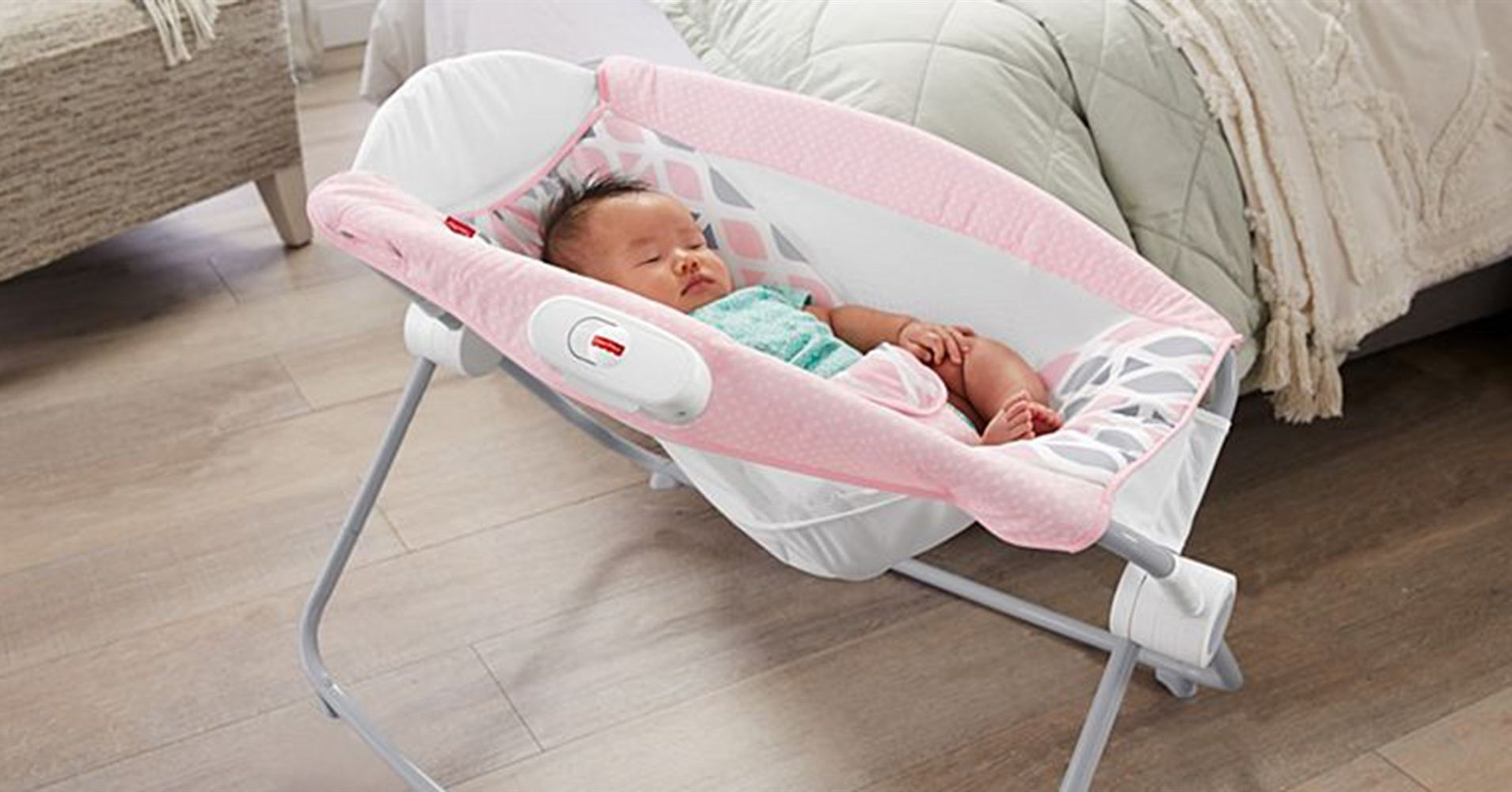 Fisher Price recalls models of its Rock 'n Play Sleeper.