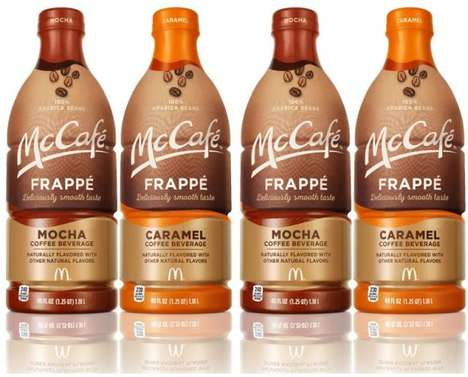 Multi-Serve QSR Coffee Drinks : McCafe Frappes