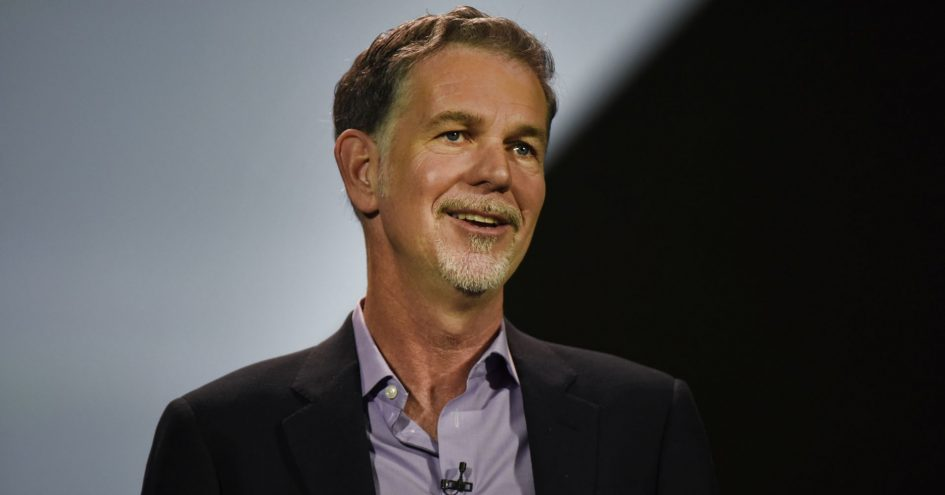 Reed Hastings, chairman, president and CEO of Netflix Inc.