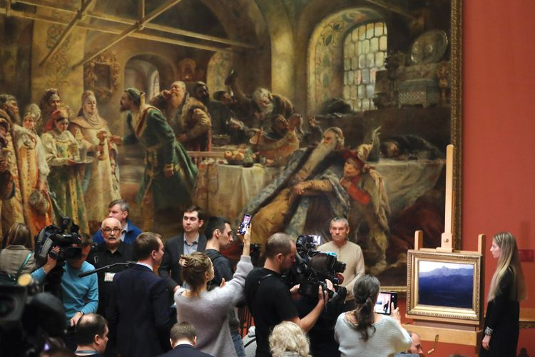 Nineteenth-century realists pull in mega-crowds as Russian museum attendance peaks