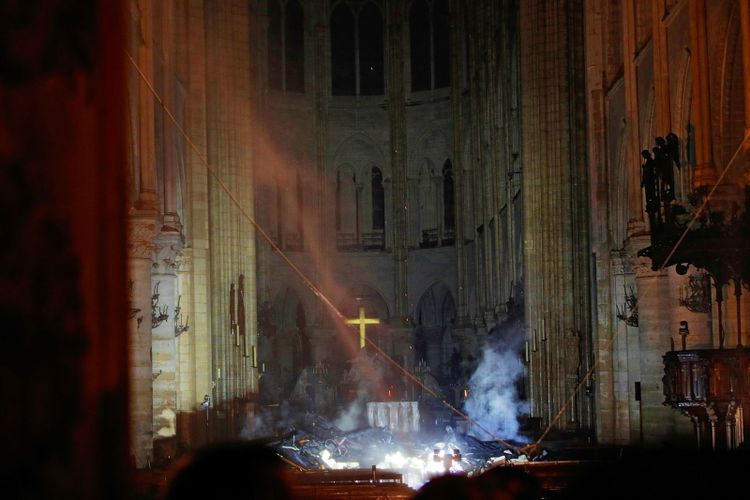 Notre Dame will be rebuilt, President Macron confirms