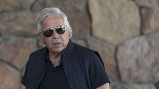 Robert Kraft, chairman and chief executive officer of New England Patriots