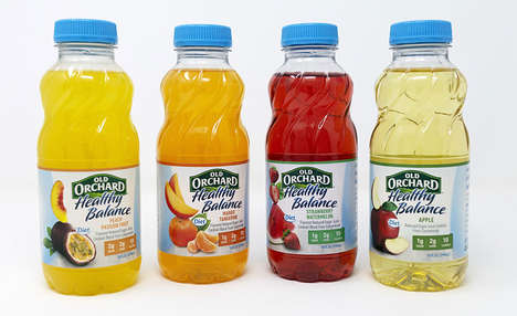 Single-Serve Low-Carb Juices : Old Orchard healthy balance
