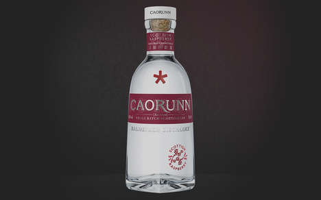 Small-Batch Raspberry Gins : Caorunn Scottish Raspberry