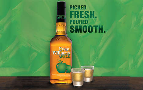 Smooth Apple-Flavored Bourbons : Evan Williams Apple