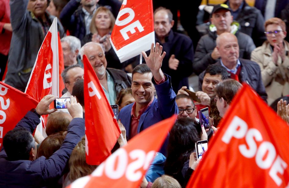 Spain's socialists win snap election