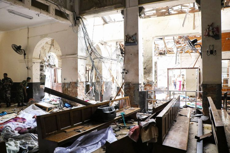 Sri Lankan government steps in to rebuild St Anthony's church after bomb attacks