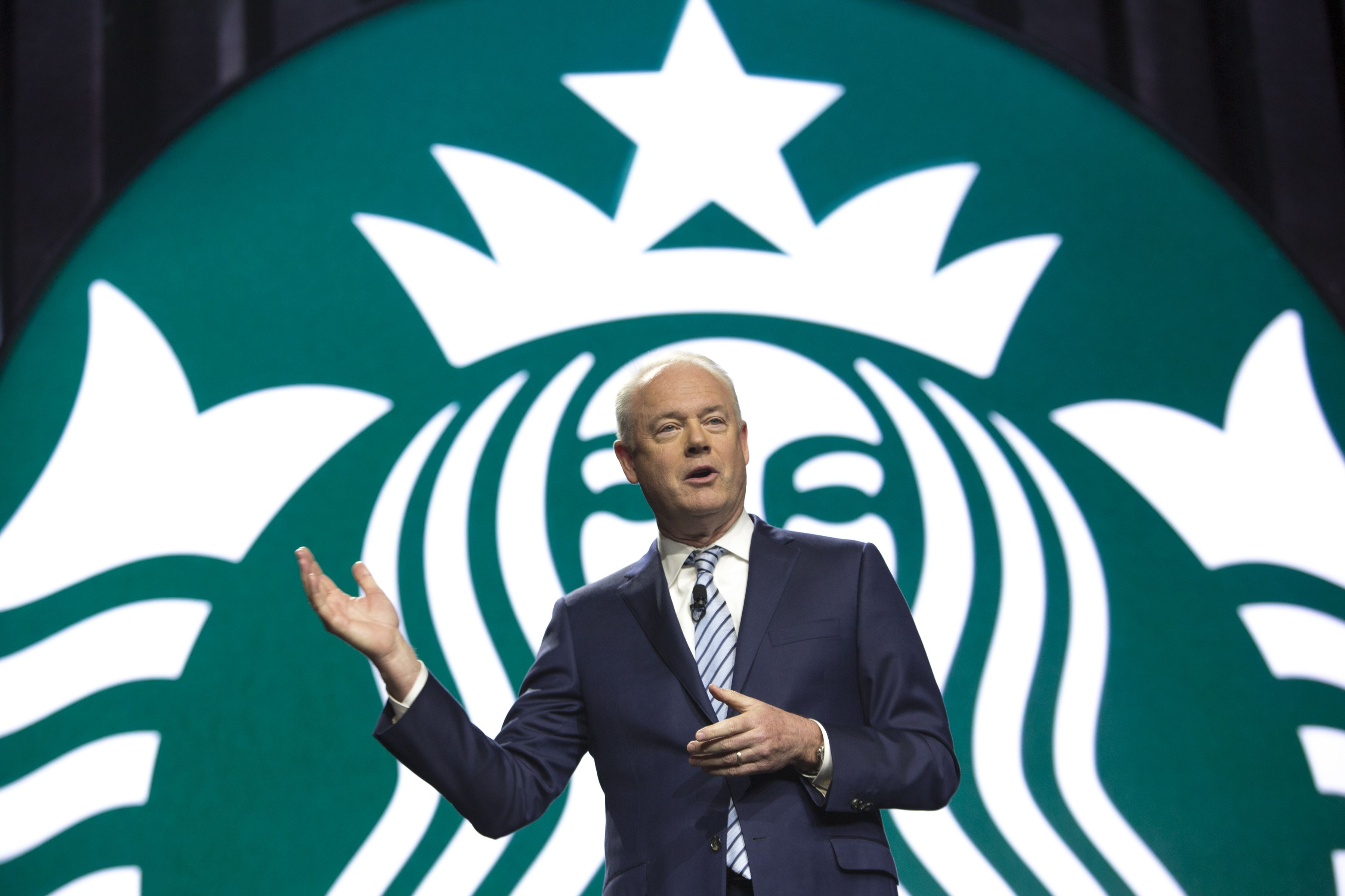 Starbucks CEO calls Chinese rivals' use of discounts unsustainable