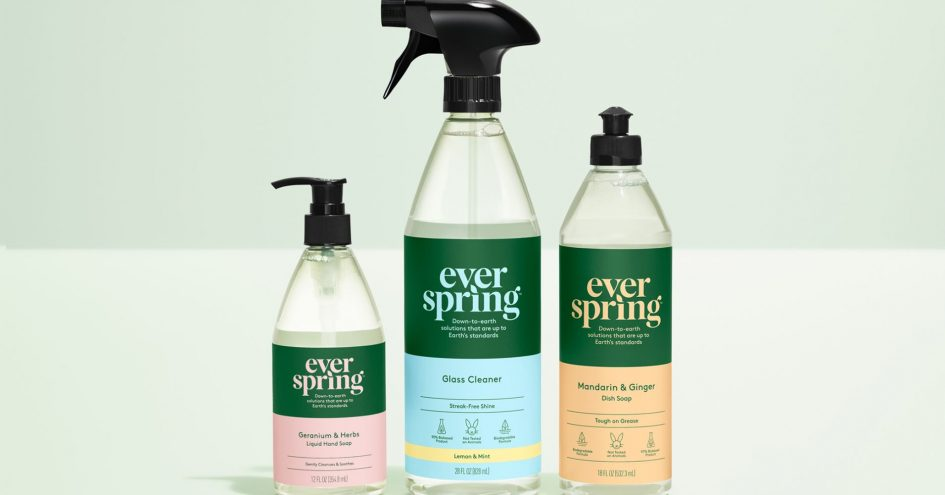 Target launches a new household essentials brand, for items like hand soap and laundry detergent, called Everspring.