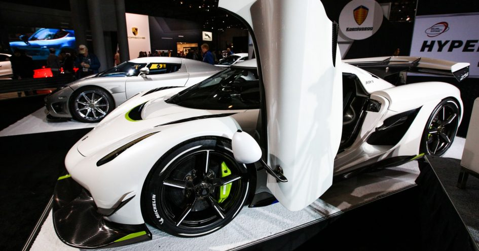 The Koenigsegg Jesko