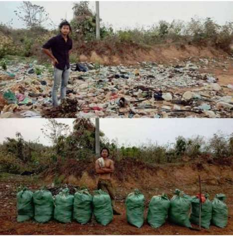 Trash-Collecting Viral Eco Initiatives : eco initiative