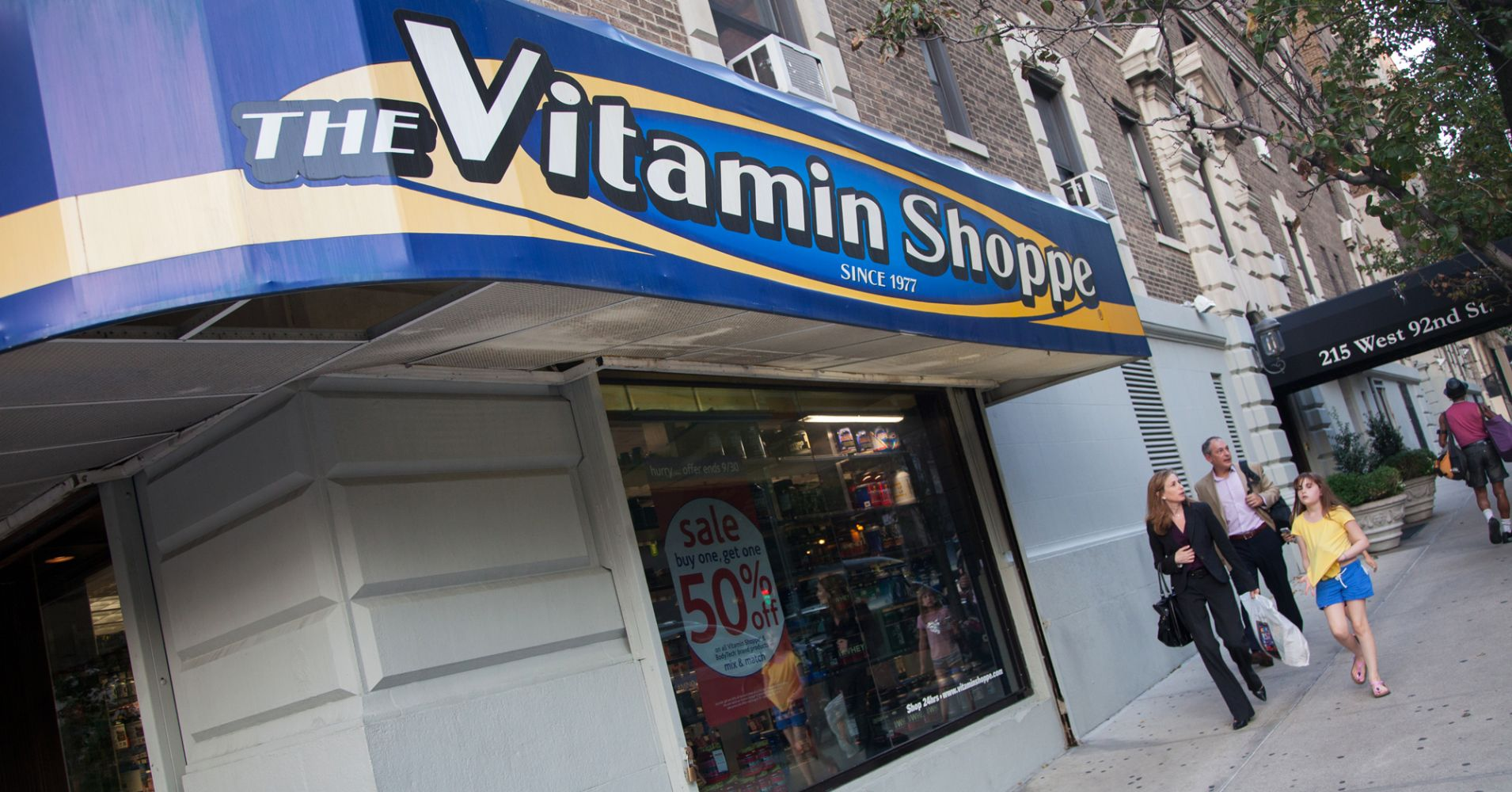 A Vitamin Shoppe store in New York.