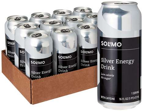 eCommerce Energy Drinks : Solimo Silver Energy Drink