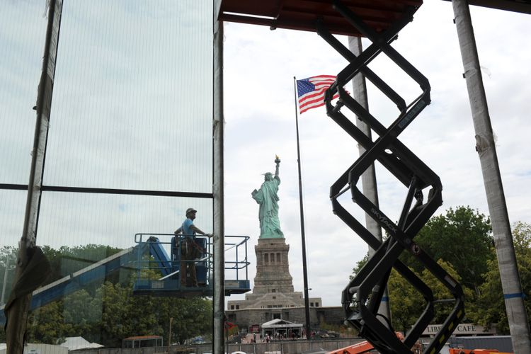A look inside New York's new Statue of Liberty Museum