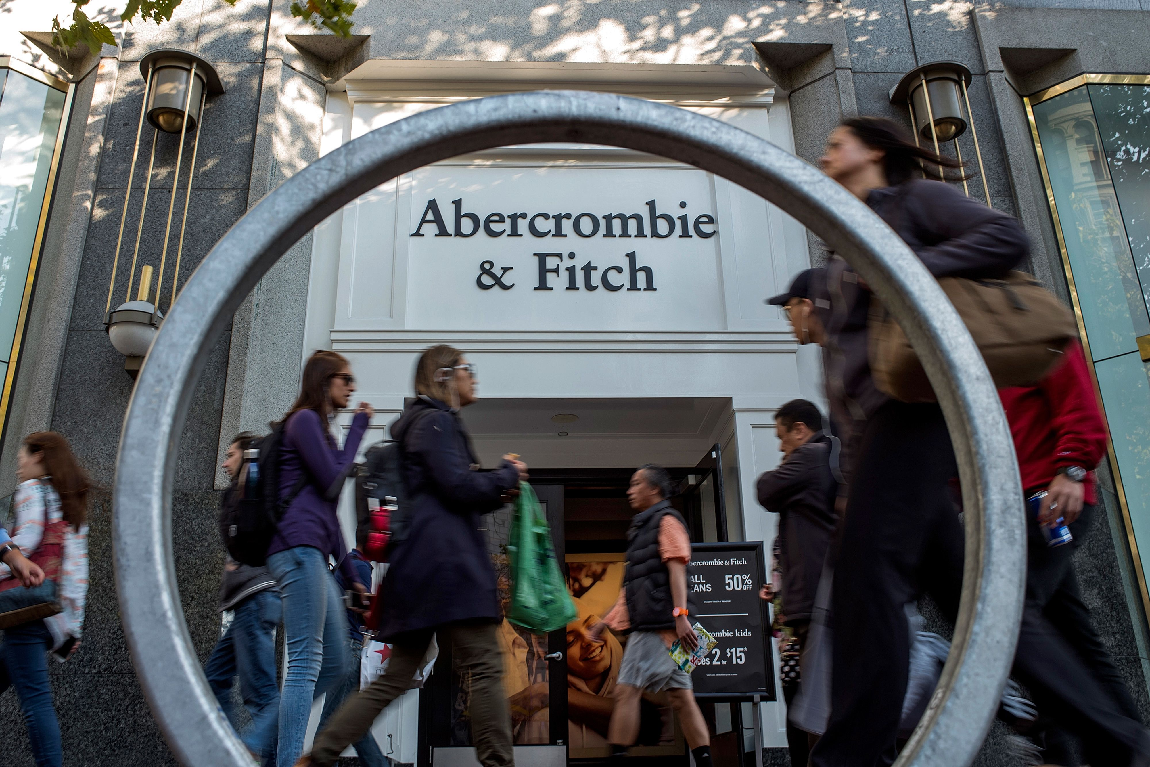 Abercrombie & Fitch CEO says smaller stores are the future
