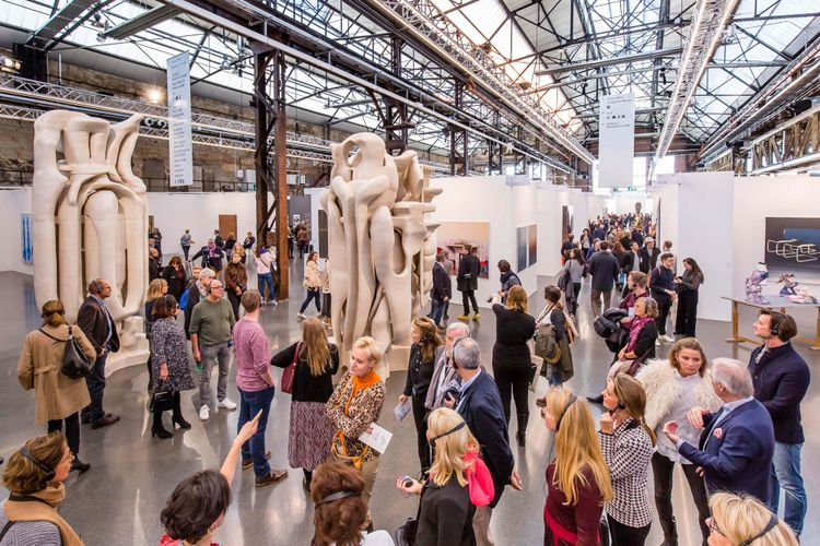 Art Basel owner sells stake in Art Düsseldorf to fair organisers Sandy Angus and Tim Etchells