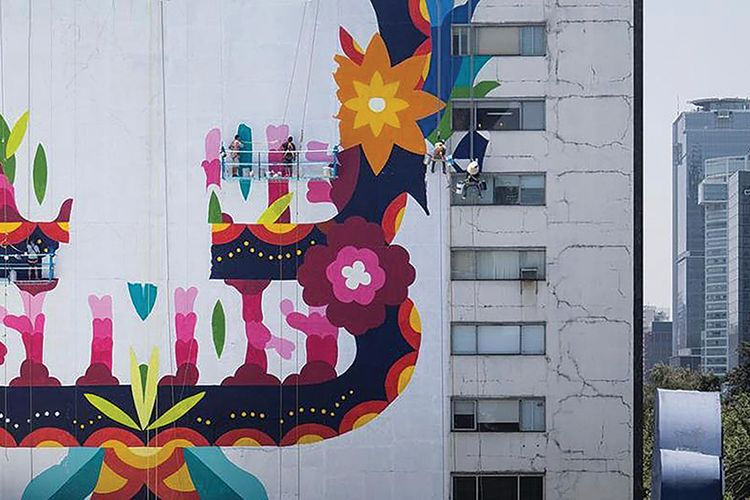 Art that breathes: Mexican murals aim to clean the air