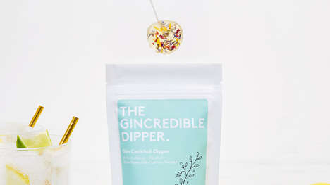 Boozy Cocktail Candies : Gincredible Dipper