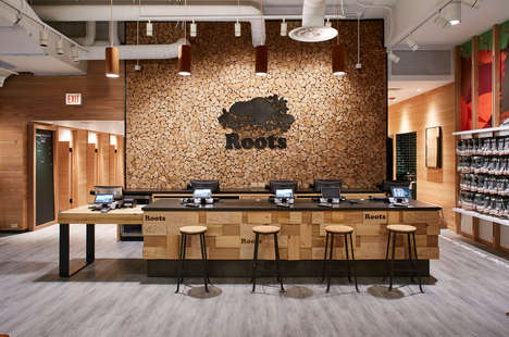 Cabin-Style Fashion Stores : Experiential Retail Store