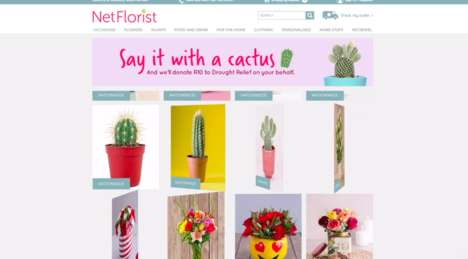 Cactus-Sharing Campaigns : Say It With Cacti