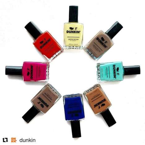 Coffee Brand Nail Polishes : Lauren B. Beauty