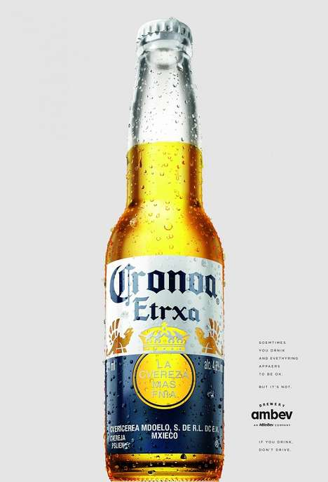 Disorienting Awareness Campaigns : beer name