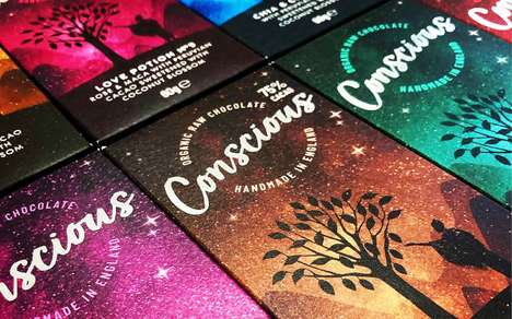 Eco-Friendly Vegan Chocolate Packaging : Conscious Chocolate