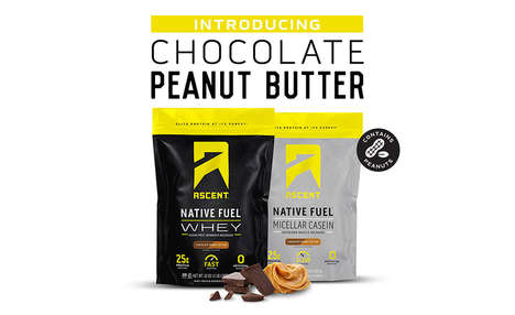 Free-From Athletic Supplements : Ascent Chocolate Peanut Butter