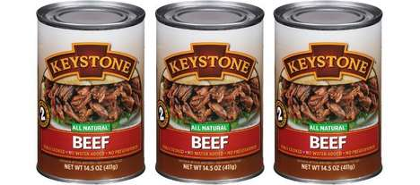 Free-From Canned Meat Packaging : BPA-Free cans
