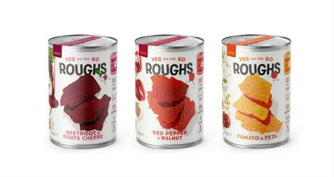 Free-From Salad-Inspired Snacks : Roughs snacks