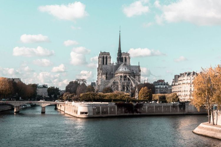 "French senate says Notre Dame must be restored ""in the same way as before"""