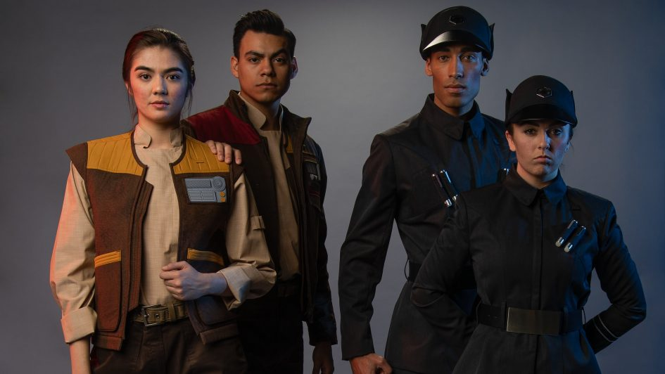 Galaxy's Edge's cast members all have unique backstories and costumes